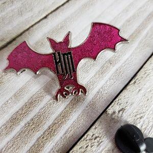 4/$25 Disney Haunted Mansion Bat Pin